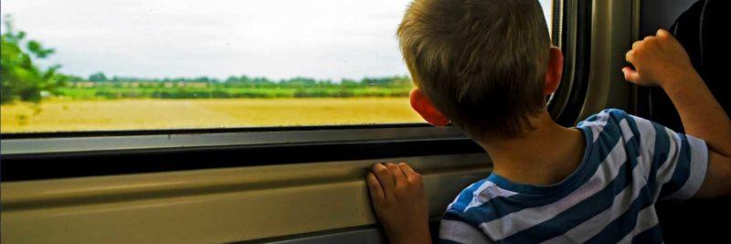 Rail child passenger