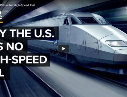 Why the US has no high speed rail – transcript of CNBC video